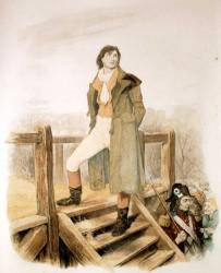 Sydney Carton (c. 1895), by English illustrator Frederick Barnard