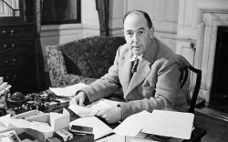 "C.S. Lewis, early advocate of Slow Books: ""It is a good rule after reading a new book, never to allow yourself another new one till you have read an old one in between."""