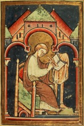 Venerable Bede (672-735). English monk, historian, and Biblical commentator.