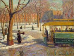 William Glackens, Washington Square 1910